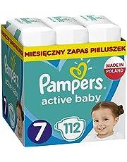 Pampers Active Baby Rozmiar 7, 112 pieluszek, 15+ kg, z 3 kanalikami chłonnymi