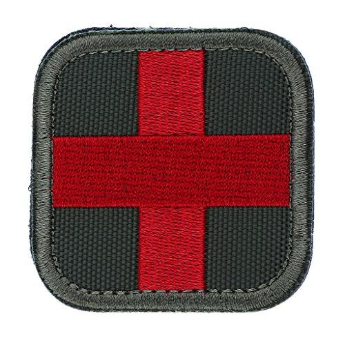 Patch di Primo Soccorso Codera Red Cross per Borsone da Viaggio Sport All'aria Aperta - Army Green