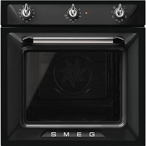 SMEG Backofen Einbau-Backofen aus Edelstahl SF6905N1 schwarz