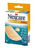 Nexcare 153630.3 - Tiras active 360º, 10 x 6 cm