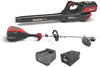 Snapper XD 82V MAX Cordless Electric Clean Up Bundle with String Trimmer, Leaf Blower,..