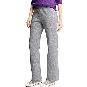 Hanes ComfortSoft Women s Open Bottom Leg Fleece Sweatpant_Lt Stl_M