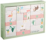 Foodist Premium Adventskalender 2019 mit 24 köstlichen Snacks, Schokolade und Gewürzen von Manufakturen - Exklusive Geschenkidee für Feinschmecker mit Koch-Rezepten und DIY Tipps (Premium 2019)