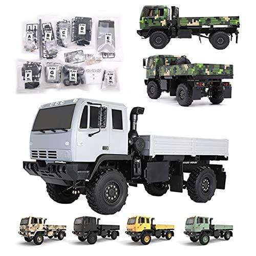 YOU339 Modelo de coche teledirigido DIY Oh Model OH32M01 1/32 militares Camión RC modelo de coche de juguete – Versión de juego de construcción (contiene todos los dispositivos electrónicos)