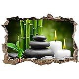 Art déco Stickers – Adhesivos 3D Trompe L'Oil Zen, Ref. 23775 – 30 x 20 cm