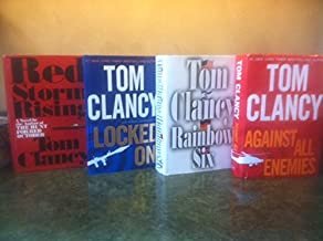 Tom Clancy hardback set 5)...Rainbow Six, Red Rabbit, Teeth of the Tiger, Sum of All Fears, Without Remorse