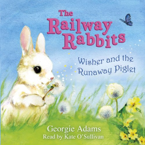 Wisher and the Runaway Piglet audiobook cover art