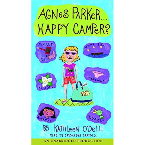 Agnes Parker, Happy Camper audiobook cover art