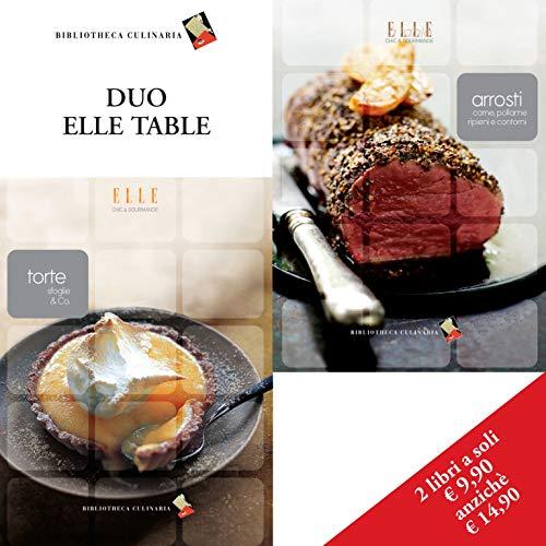 Confezione Duo Elle Table: Arrosti, carne, pollame, ripieni e contorni - Torte, sfoglie & co