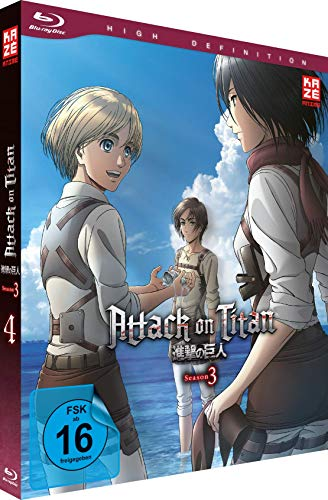 Attack on Titan - Staffel 3 - Vol. 4 - [Blu-ray]