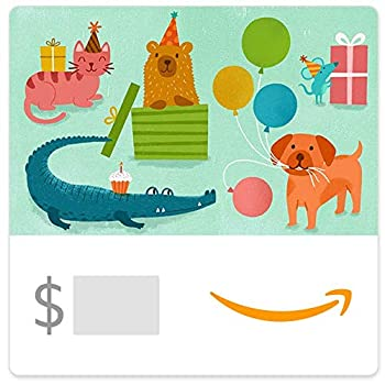 Amazon eGift Card - Birthday Party Animals