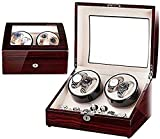 YUNLILI Reloj Cajas 34 * 26 * 22 cm Mecánica Reloj Shaker Agitador Anti-magnético Hogar Mute Turn Metter Single Watch Pequeña Caja de Reloj automática