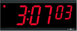 Pyramid Time Systems Extra Large Stand Alone Digital Clock, 4