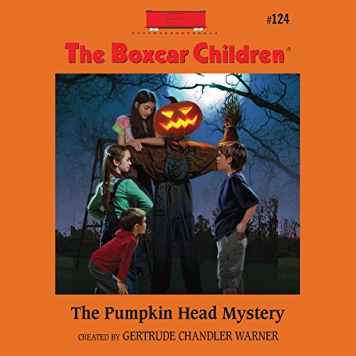 The Pumpkin Head Mystery audiobook cover art