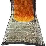 Vintage Sari Indian Women Wickelkleid Pritned Sewing Craft