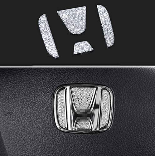 Many popular brands Bling Car Steering Wheel Decorative Cheap mail order sales Sticker Fit fo Diamond