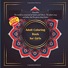 Adult Coloring Book for Girls Mandala - The world is composed of Givers and Takers. The takers may eat better, but the givers sleep better.