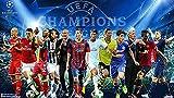 Rompecabezas De 1000 Piezas para Adultos Y Niños, 1000 Rompecabezas - Deportes UEFA Champions League - Rompecabezas Desafiantes