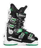 nordica sportmachine 90 x - botas de esquí, color negro/blanco (910), tamaño 30
