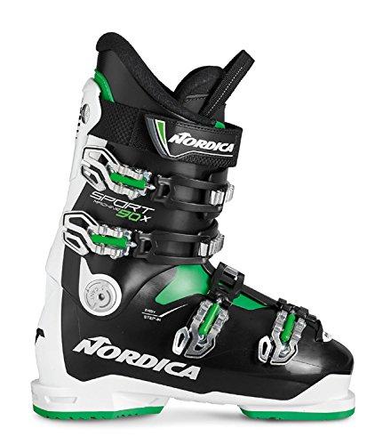 Nordica Herren Skischuhe Sportmachine 90X M Weiss/schwarz (909) 28,5