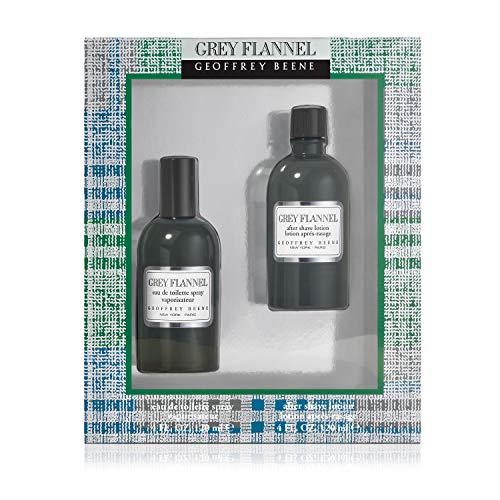 Geoffrey Beene – Estuche Grey Flannel Eau De Toilette Con VaporizadorCon Loción Para Después Del Afeitado, One size, 120 ml