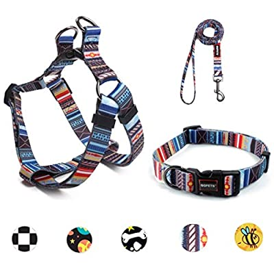 Ebrand Dog Harness, Dog Leash and Dog Collar, A...