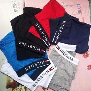 ODCOLTD Mens Mesh Boxer Underwear Panties Men Ultra-Thin Boxers Navy Blue