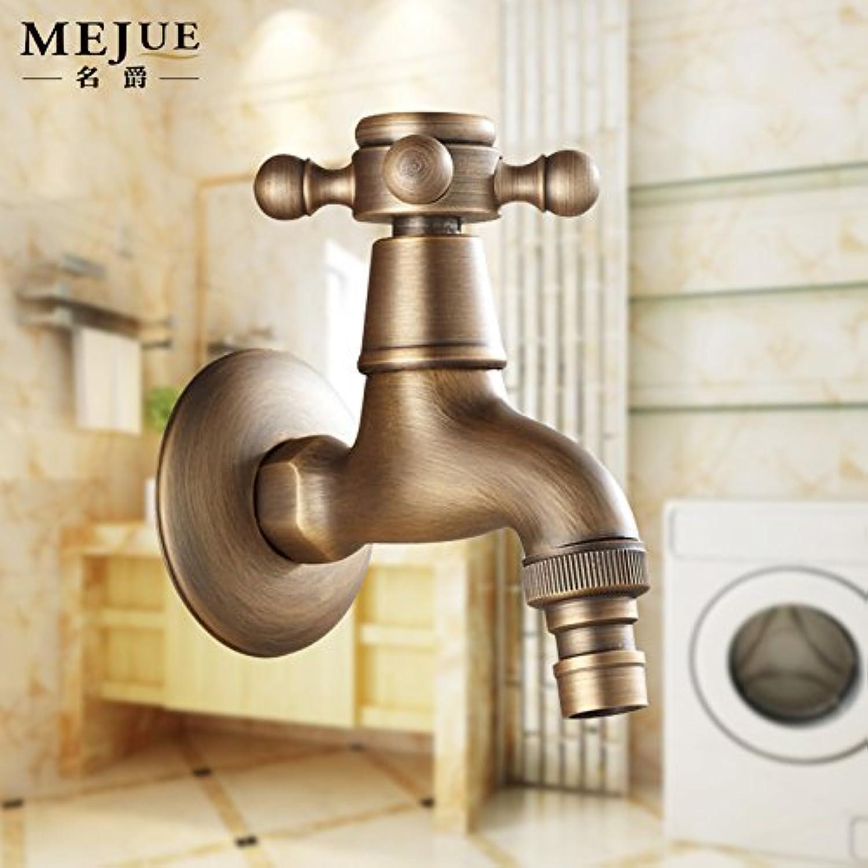 YIRUI Basin faucet retro faucet thick single cold water faucet