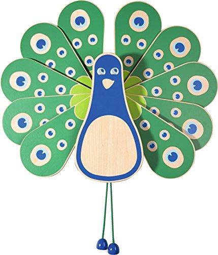 Haba 052953 educatief speelgoed voor de muur, magisch pauw spel voor kinderen