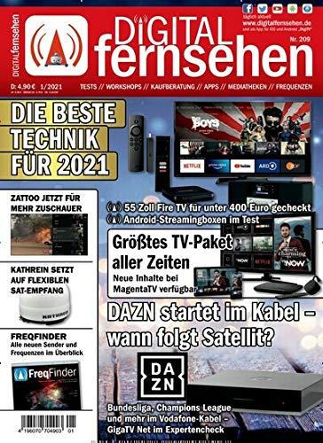 """Digital Fernsehen 1/2021 \""""Die beste Technik für 2021\"""""""
