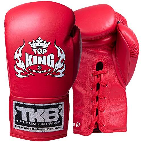 TOP King Boxhandschuhe, Wettkampf, rot Größe 10 Oz
