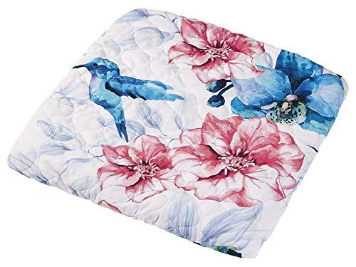 Waschmaschinenbezug Abdeckung Waschmaschine Trockner 60 x 60 cm Blumenmuster