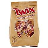 Twix Miniature Biscotti e Mou con Cioccolato, 130g