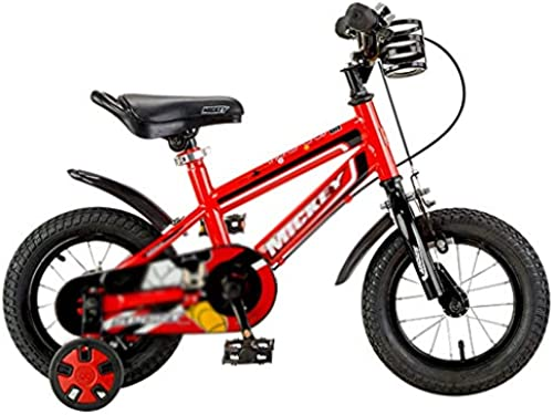 Kinderfürr r fürrad im Freien Studentenfürrad Jungenmädchenfürrad Auto im Freien Kinderlernauto, Rahmen aus Kohlenstoffstahl (Farbe   rot, Größe   14inches)
