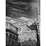 Wee Blue Coo Photo Architecture Florence Duomo Cathedral Black White Italy Unframed Wall Art Print Poster Home Decor Premium