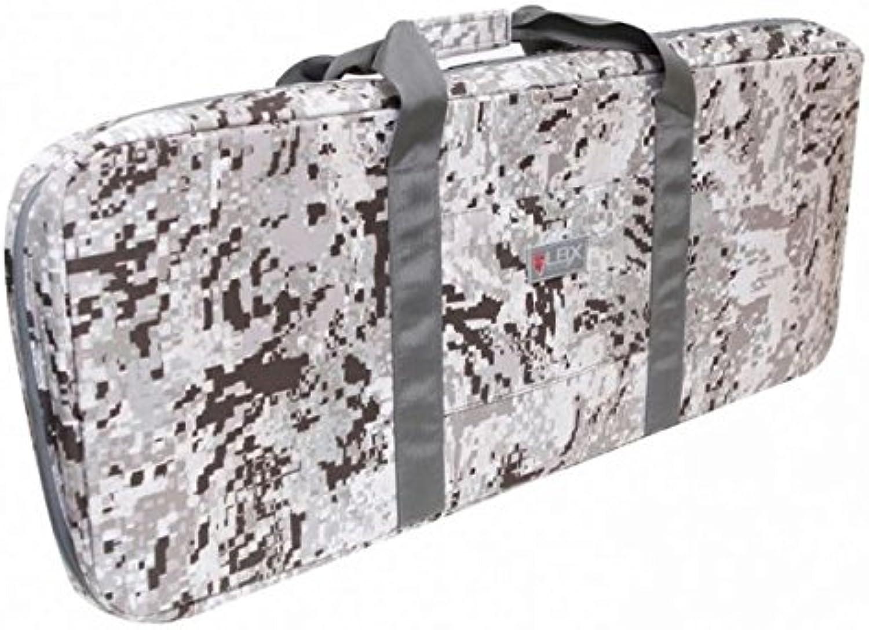 LBX TACTICAL LBX0309SR Low Profile Rifle Bag, Snow Raptor, One Size