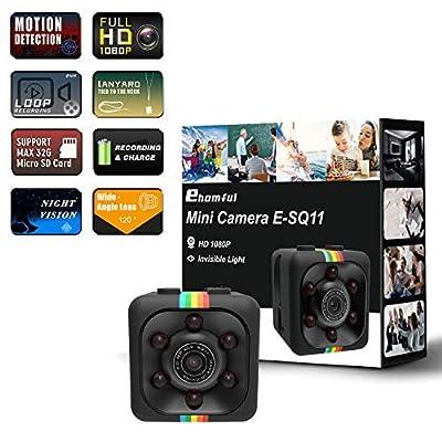 Mini Spy Camera 1080P from ehomful
