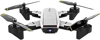 ドローン 折り畳み式 2.4Ghz 4CH広角WiFi 4K HDデュアルカメラオプティカルフローRCクアドコプター 操縦可能距離100M FPVリアルタイム 高度維持 モード1/2自由転換 (ホワイト)