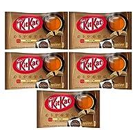 キットカット ミニ KitKat オトナの甘さ ほうじ茶 mini12枚入り まとめ買い×5袋