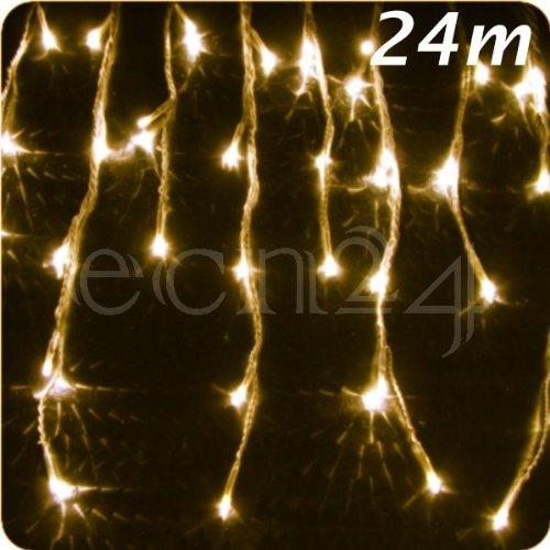 Guirnalda lum. estalact. LED – Efecto nevada 24m