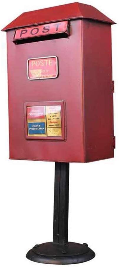 RYYAIYL Vintage Floor-Standing Mailbox Chicago Mall Outdoor Sales Large Waterproof