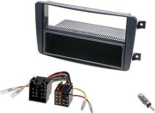 Audioproject A220 - autoradio inbouwset radioscherm MERCEDES C-klasse W203 CLK W209 Viano Vito inbouwframe vak radio-adapt...