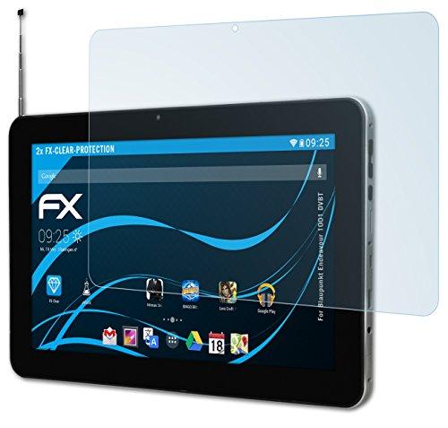 atFolix Schutzfolie kompatibel mit Blaupunkt Endeavour 1001 DVBT Folie, ultraklare FX Bildschirmschutzfolie (2X)