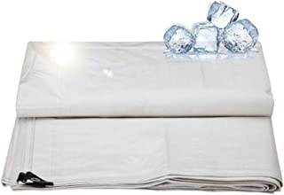 jsmhh Lona Impermeable Protector Solar Lona Transpirable for Ojales Ligeros, Blanco, 175G / M & sup2, Múltiples tamaños (C...