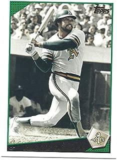 REGGIE JACKSON 2009 Topps Update #UH253 SP Short Print Card Oakland Athletics Baseball