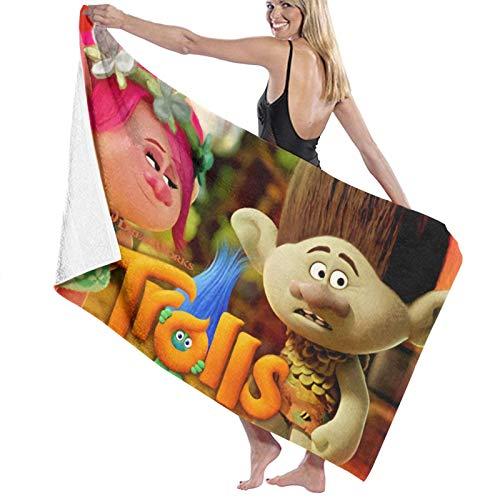 Tr-Ol-Ls - Toallas de baño de secado rápido, extragrandes para mujeres/hombres/niños de playa/natación/senderismo/camping