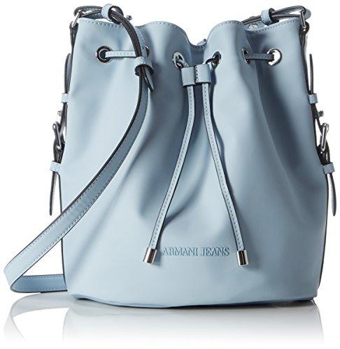 Armani Jeans 9222127P772 - Bolsa de Asa Superior de Sintético Mujer, Color...