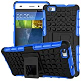 EMAXELERS Huawei P8 Lite Case Cover 2015 [Heavy Duty] Shock