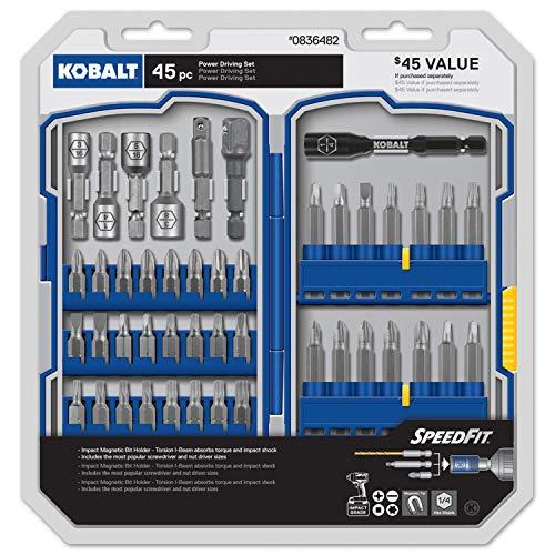 Kobalt 45-Piece Screwdriver Bit Set