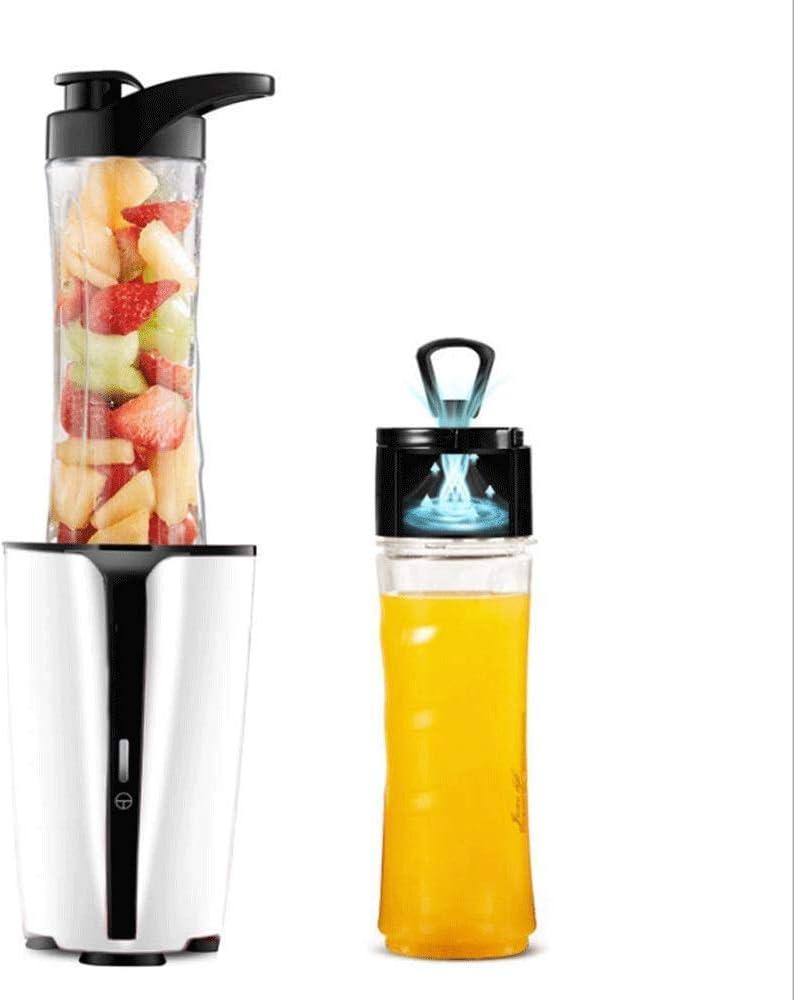 Máquinas de exprimidor, licuadora de pie de masticación de exprimidor, copa de licuadora de licuadora, capacidad de 600 ml, agitador pequeño, licuadora perfecta for uso personal, uso doméstico (tamaño